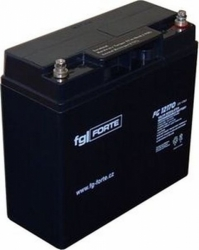 Záložní olověný akumulátor / baterie 12V 17Ah, FGforte