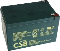 Trakční akumulátor / baterie 12V 12Ah, CSB - životnost 7 let