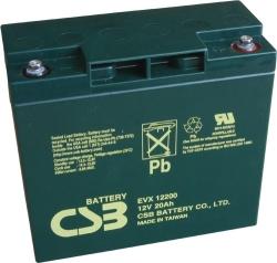 Trakční akumulátor / baterie 12V 20Ah, CSB - životnost 7 let