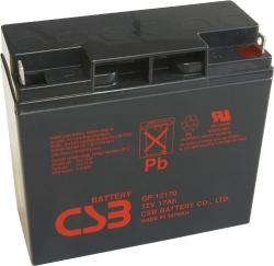 Záložní olověný akumulátor / baterie 12V 17Ah, CSB