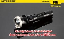 Svítilna P16 taktická XM-L (T6) LED 960lm,2x123A
