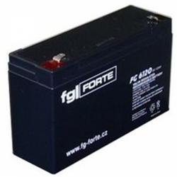Záložní olověný akumulátor / baterie 6V 12Ah, FGforte