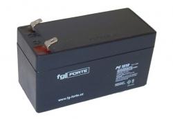 Záložní olověný akumulátor / baterie 12V 1,2Ah, FGforte