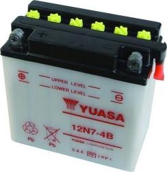"Motobaterie YUASA ""standard"" 12V 7Ah, startovací proud"