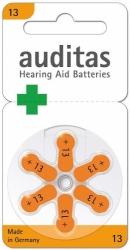 Baterie do naslouchadel AUDITAS 13, blistr 6ks.