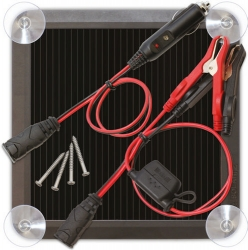 Solární nabíječka olověných akumulátorů NOCO, 12V 2,5W