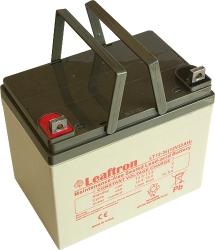 Záložní olověný akumulátor / baterie 12V 35Ah, Leaftron