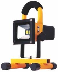 Reflektor LED (jako halogen lineární) MCOB přenosný aku 10W/CW