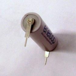 Aku AA Fujitsu eneloop 2000/1900mAh Ni-MH (HR-3UTC) vývody pin 1