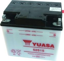 """Motobaterie YUASA """"standard"""" 12V 25Ah, startovací prou"""