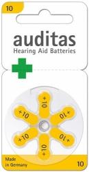 Baterie do naslouchadel AUDITAS 10, blistr 6ks.
