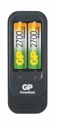 Nabíječka GP PB560, AA/AAA + 2xAA2700
