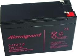 Záložní olověný akumulátor / baterie 12V 7Ah, Alarmguard