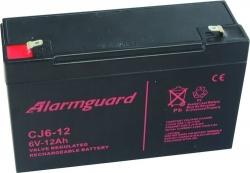 Záložní olověný akumulátor / baterie 6V 12Ah, Alarmguard