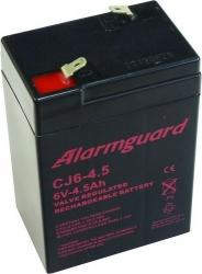 Záložní olověný akumulátor / baterie 6V 4,5Ah, Alarmguard