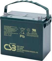 Trakční akumulátor / baterie 12V 52Ah, CSB - životnost 7 let