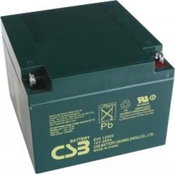 Trakční akumulátor / baterie 12V 26Ah, CSB - životnost 7 let