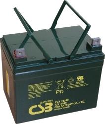 Trakční akumulátor / baterie 12V 34Ah, CSB - životnost 7 let