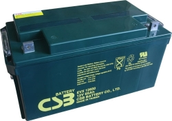 Trakční akumulátor / baterie 12V 65Ah, CSB - životnost 7 let
