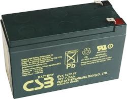Trakční akumulátor / baterie 12V 7,2Ah, CSB - životnost 7 let