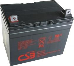 Záložní olověný akumulátor / baterie 12V 34Ah, CSB