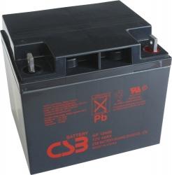 Záložní olověný akumulátor / baterie 12V 40Ah, CSB