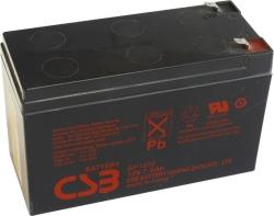 Záložní olověný akumulátor / baterie 12V 7,2Ah,CSB