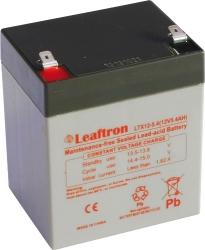 Záložní olověný akumulátor s vysokým výkonem / baterie 12V 5,4Ah