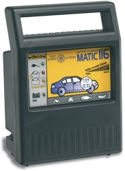 Profesionální nabíječka akumulátorů DECA MATIC 116, 12V