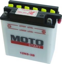 """Motobaterie MOTOSTART """"standard"""" 12V 5Ah"""