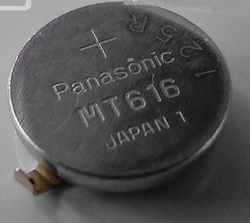MT616 Capacitor, watch Citizen s vývody 295-66, 295-785