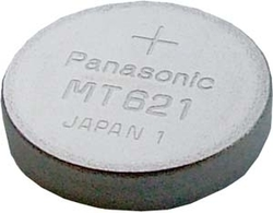 MT621 Capacitor, watch Casio  1,5V  2,5mAh  6,8x2,1mm Panasonic-holý článek