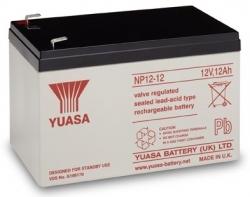 Záložní olověný akumulátor / baterie 12V 12Ah, YUASA