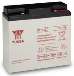 Záložní olověný akumulátor / baterie 12V 17Ah, YUASA