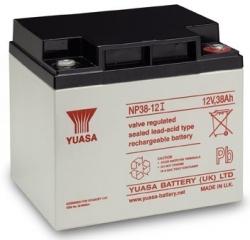 Záložní olověný akumulátor / baterie 12V 38Ah, YUASA
