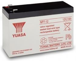 Záložní olověný akumulátor / baterie 12V 7Ah, YUASA