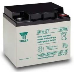 Záložní olověný akumulátor / baterie 12V 38Ah, YUASA - životnos
