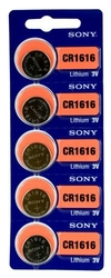 CR1616  SONY lithium, 3V blistr 5ks