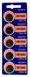 CR1620  SONY lithium, 3V blistr 5ks