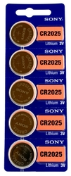 CR2025  SONY lithium, 3V blistr 5ks