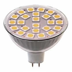 Žárovka MR16 LED 4W 300lm 24LED 5050 teplá bílá WW