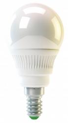 Žárovka E14 malá baňka LED 4W 320lm teplá bílá WW GLOBE RS-LINE