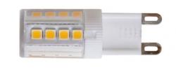 Žárovka G9 LED 4W 400lm teplá bílá WW