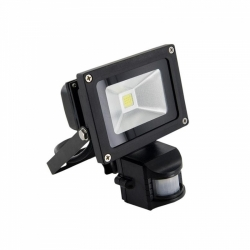 Reflektor LED (jako halogen lineární) MCOB s PIR 10W/CW 1000lm