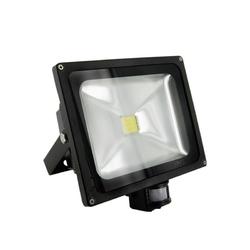 Reflektor LED (jako halogen lineární) MCOB s PIR 30W/CW 3000lm