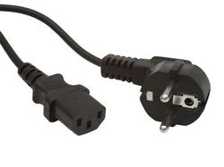 kabel síťový pro PC, UPS, TV, varné konvicve 5m 220V