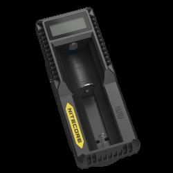 Nitecore um10, inteligentní nabíječ s lcd displejem a usb zdrojo