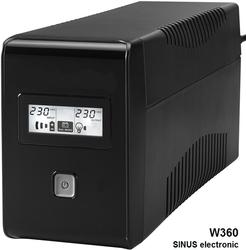 Záložní zdroj UPS pro kotle a oběhová čerpadla, typ W360 SINUS