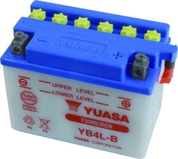 "Motobaterie YUASA ""YuMicron"" 12V 4Ah, startovací proud"